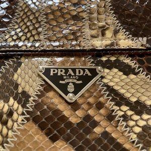 PRADA Python Hand Bag